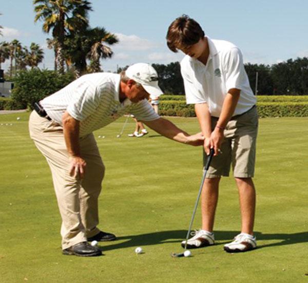 golf academy website